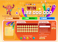 22lottery.com screenshort
