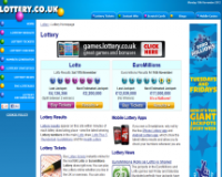 Lottery.co.uk screenshort