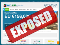PlayHugeLottos.com screenshort