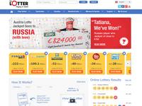 TheLotter.com screenshort
