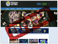 MichiganLottery.com screenshort