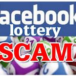 Facebook Lottery Scam – Fraud Alert