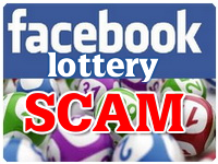 Facebook Lottery Scam
