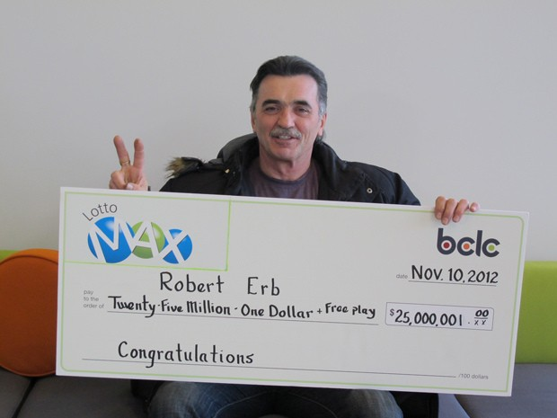 Robert Erb, lottery winner