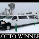 Lottery Winners: Saying Goodbye Practicality 'Cuz I'm Rich, Bitch!