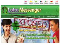 LottoMessenger.com screenshort