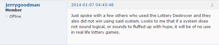 Lottery Destroyer review