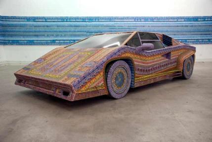 Lottery ticket art - Dream Car