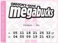 Oregon Megabucks lottery