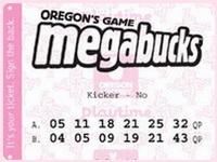 Oregon Megabucks lottery