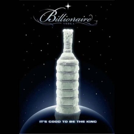 Spend Your Lottery Winnings on Billionaire Vodka