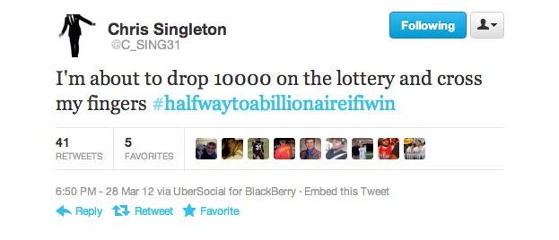 Chris Singleton Twitter