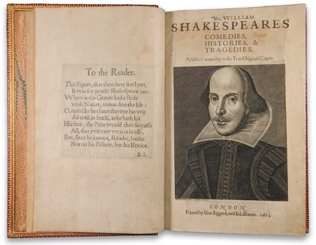 Spend Your Lottery Winnings on First Folio By: William Shakespeare