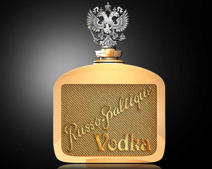 Spend Your Lottery Winnings on Russo-Baltique Vodka