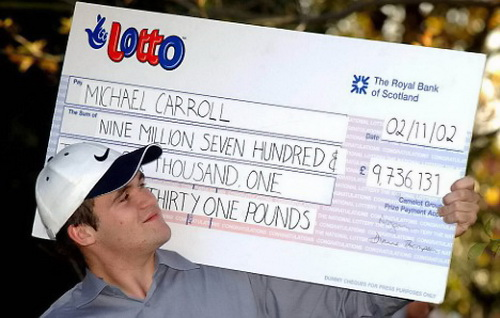 Lottery loser - Michael Carroll