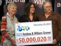 Edmonton lottery winners