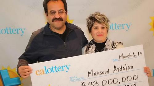 Massoud Ardalan - unemployed lottery winner