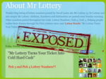 Mr Lottery System Exposed — A New Twist in the World of Lottery! What In The World Is This?!