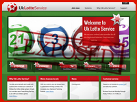 UkLottoService.com screenshort