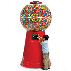 Massive Gum Ball Machine