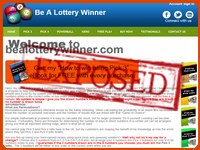 'Be A Lottery Winner' Exposed