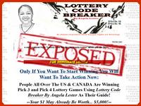 Lottery Code Breaker by Angela Lester