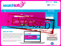 SearchLotto.co.uk screenshort