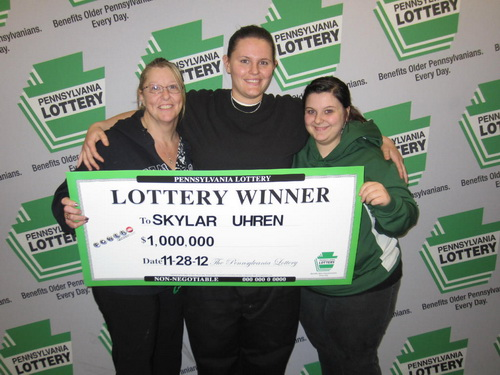 Skylar Uhren - the first time lottery player