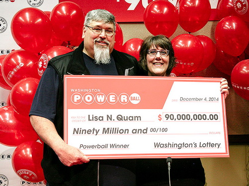 Lisa Quam - the first time lottery player