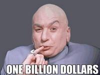 Billion dollar jackpots