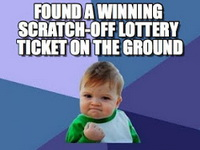 Scratch offs moving on