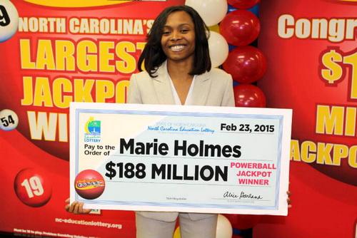 Lottery Winner #1 – Marie Holmes