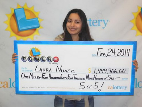 Lottery Winner #5 – Laura Nunez