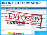 Onlinelotteryshop Exposed — Can You Shop at Onlinelotteryshop.com?