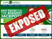 LuckyLottos.com screenshort