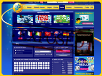 Sports.galabingo.com/lotto screenshort