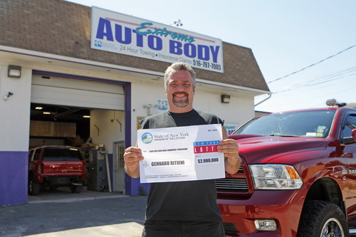 Auto Body Shop Owner Jerry Ritieni