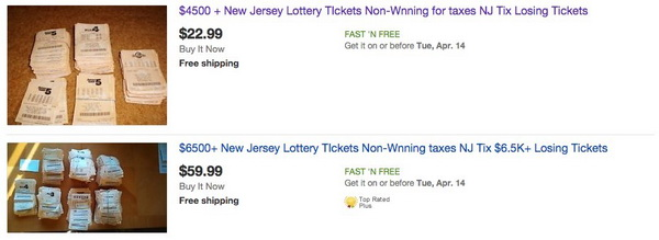 Lotto ticket scam