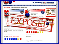 UkNationalLottery.com screenshort
