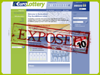 EuroLottery.lu screenshort
