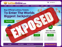 LottosOnline.com screenshort