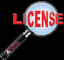 Check the license