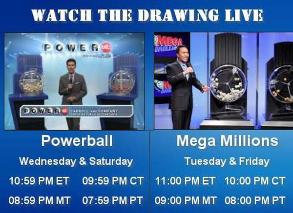 Watch the PowerBall Drawing Online
