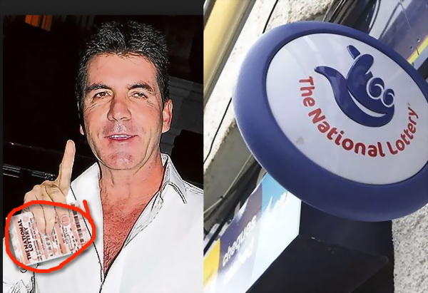 Simon Cowell is a Regular Lottery Player