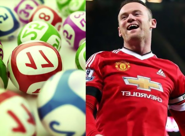 Wayne Rooney is a Regular Lottery Player