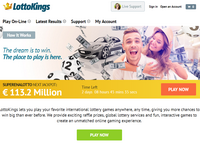 LottoKings.com screenshort