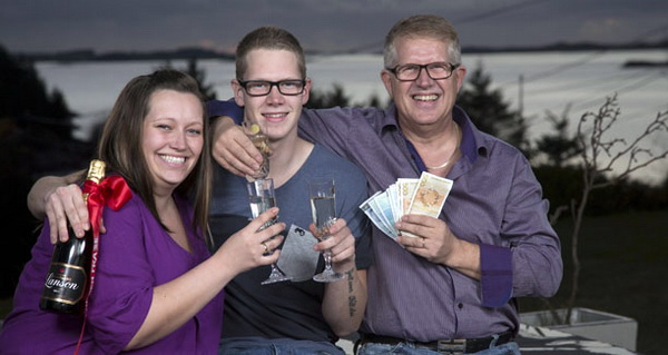 Norway's Luckiest Family
