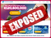 LottoLucker.com screenshort