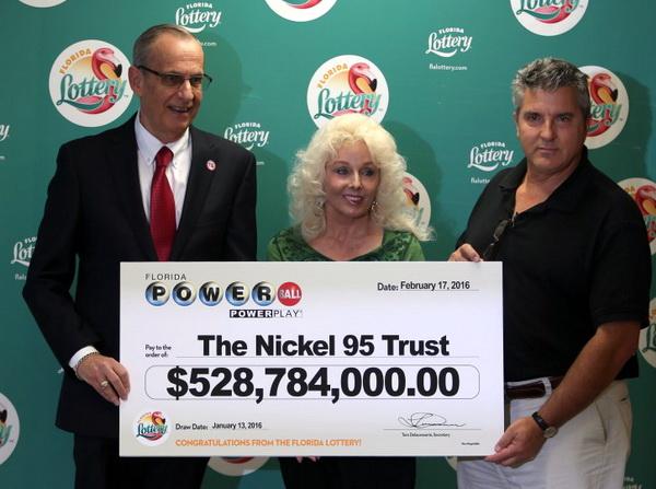 David and Maureen, Powerball Jackpot Winners