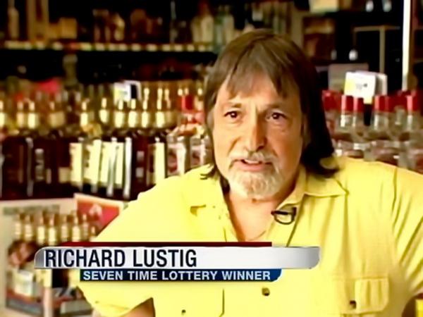 Richard Lustig, Seven Time Lottery Winner